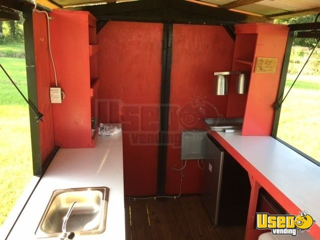 2018 Barbecue Food Trailer Bbq Smoker Louisiana for Sale - 7