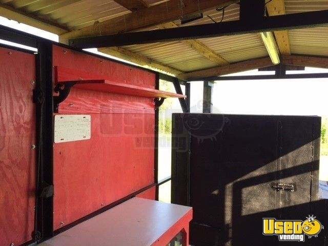 2018 Barbecue Food Trailer Interior Lighting Louisiana for Sale - 11
