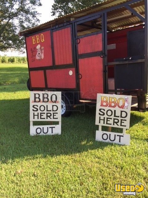 2018 Barbecue Food Trailer Refrigerator Louisiana for Sale - 5