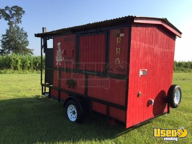 2018 Barbecue Food Trailer Spare Tire Louisiana for Sale - 3