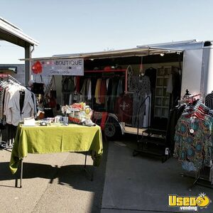 2018 Blazer Mobile Boutique Trailer Awning Oregon for Sale
