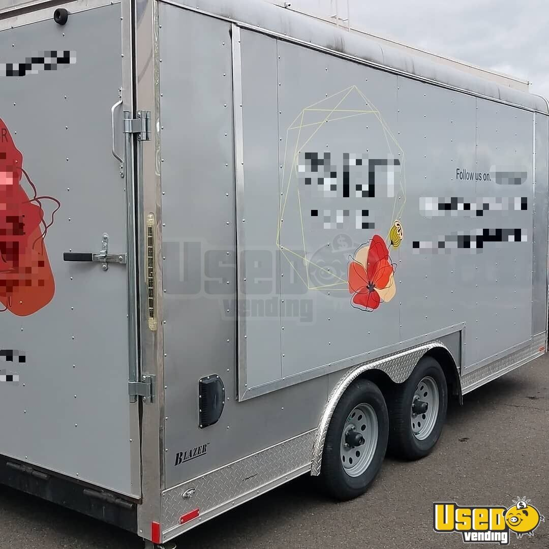 2018 Blazer Mobile Boutique Trailer Cabinets Oregon for Sale - 2