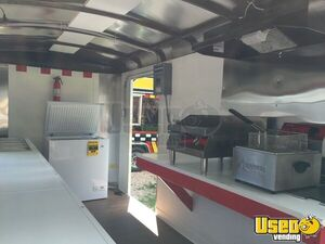 2018 Challenger Food Concession Trailer Concession Trailer Interior Lighting Kentucky for Sale