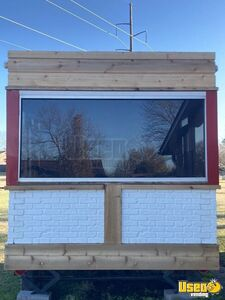 2018 Coffee And Shaved Ice Concession Trailer Beverage - Coffee Trailer Concession Window Oklahoma for Sale