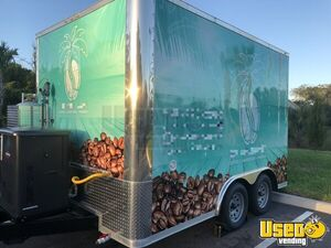 2018 Coffee Concession Trailer Beverage - Coffee Trailer Concession Window Florida for Sale