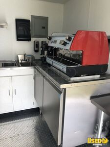 2018 Coffee Concession Trailer Beverage - Coffee Trailer Deep Freezer Florida for Sale
