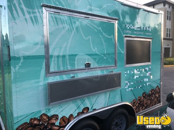 2018 Coffee Concession Trailer Beverage - Coffee Trailer Florida for Sale