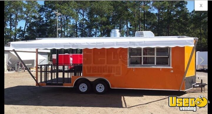 2018 Concession Trailer Air Conditioning Georgia for Sale - 2