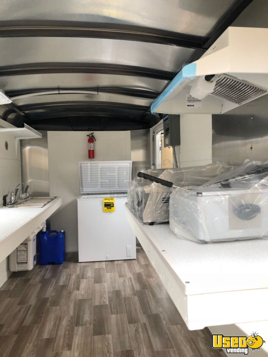 2018 Concession Trailer Interior Lighting Kentucky for Sale - 8