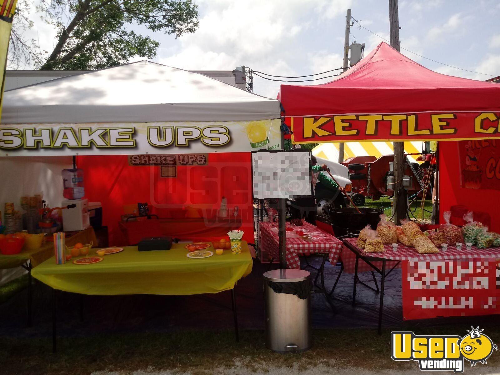 10u0027 x 20u0027 Kettle Corn u0026 Shakeup Concession Stands / Tents for Sale in Illinois! & 10u0027 x 20u0027 Kettle Corn u0026 Shakeup Stands | Concession Stands / Tents ...