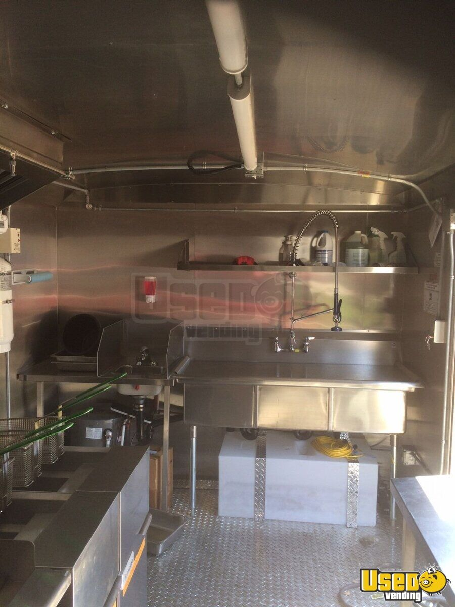 2018 Continental 17ft Concession Trailer Kitchen Food Trailer Chef Base British Columbia for Sale - 11