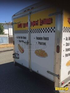 2018 Continental 17ft Concession Trailer Kitchen Food Trailer Concession Window British Columbia for Sale