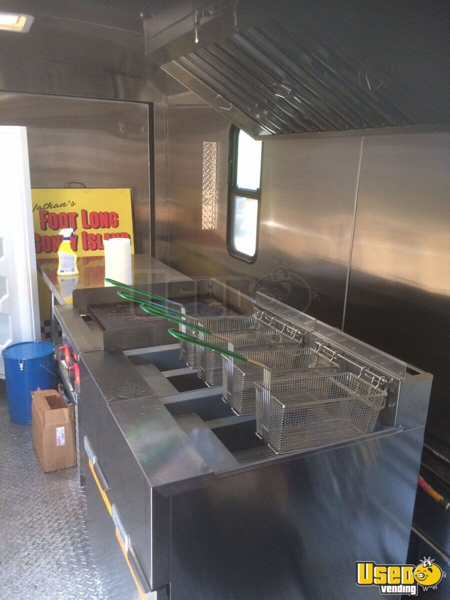 2018 Continental 17ft Concession Trailer Kitchen Food Trailer Shore Power Cord British Columbia for Sale - 9