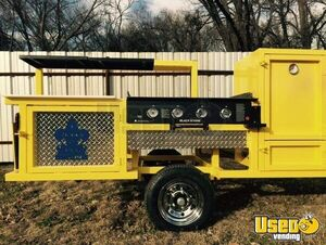 2018 Erwin Mfg Open Bbq Smoker Trailer Chargrill Texas for Sale