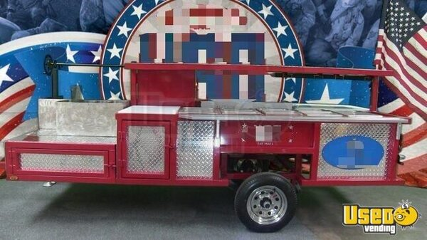 2018 Erwin Mfg Open Bbq Smoker Trailer Texas for Sale