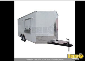 2018 Food Concession Trailer Concession Trailer Stainless Steel Wall Covers Georgia for Sale