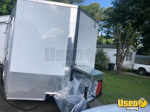 2018 Food Concession Trailer Concession Trailer Stainless Steel Wall Covers North Carolina for Sale