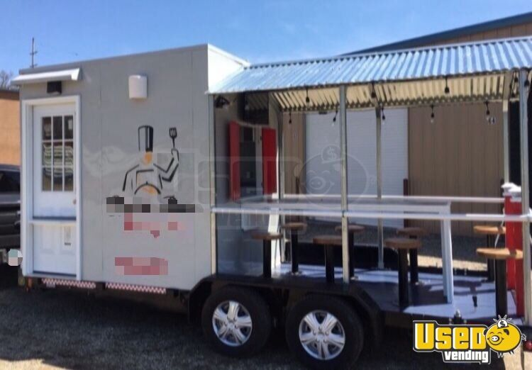 2018 Food Concession Trailer Kitchen Food Trailer Concession Window Ohio for Sale - 2
