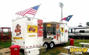 2018 Food Concession Trailer Kitchen Food Trailer Concession Window Texas for Sale