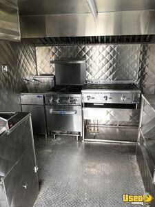2018 Food Concession Trailer Kitchen Food Trailer Diamond Plated Aluminum Flooring Texas for Sale