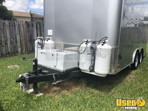 2018 Food Concession Trailer Kitchen Food Trailer Hot Water Heater Florida for Sale