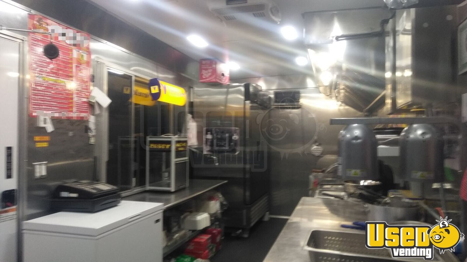 2018 Food Concession Trailer Kitchen Food Trailer Insulated Walls Texas for Sale - 6
