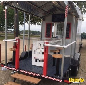 2018 Food Concession Trailer Kitchen Food Trailer Spare Tire Ohio for Sale
