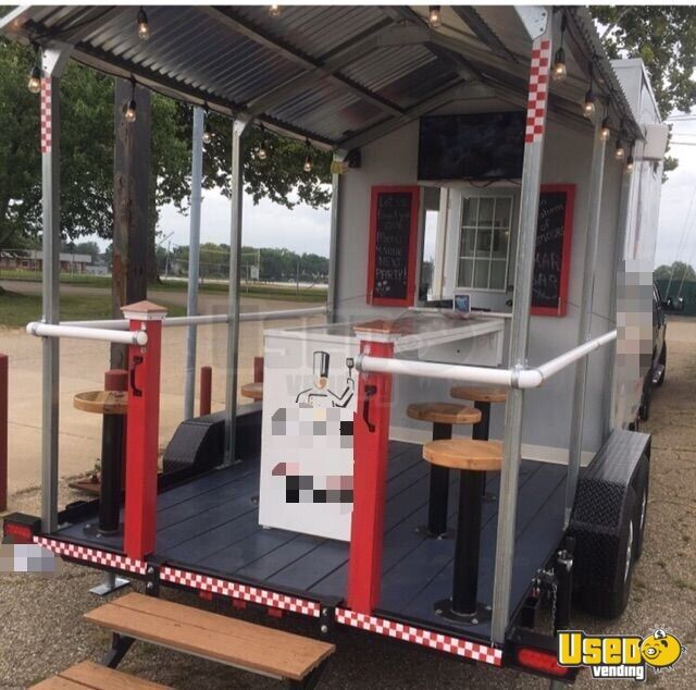 2018 Food Concession Trailer Kitchen Food Trailer Spare Tire Ohio for Sale - 3