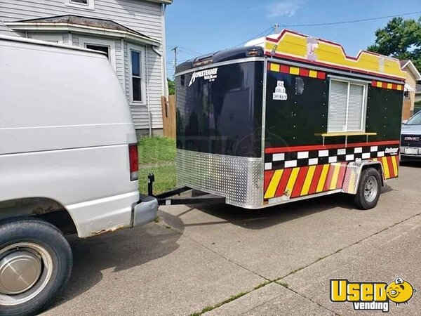2018 Food Concession Trailer Snowball Trailer Ohio for Sale