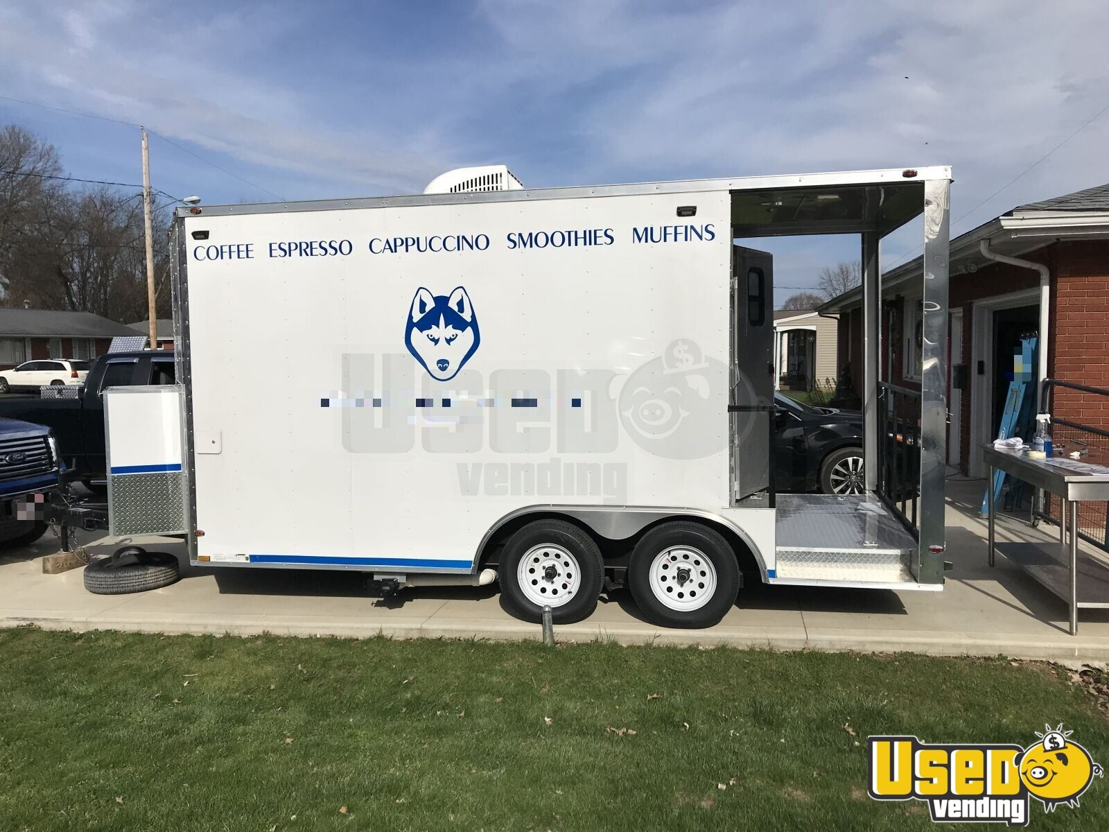 2018 Freedom Trailer Beverage - Coffee Trailer Cabinets Ohio for Sale - 5