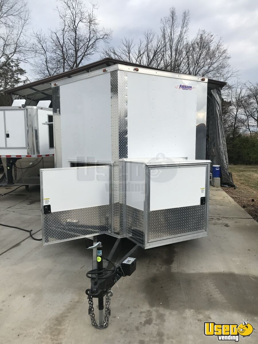 2018 Freedom Trailer Beverage - Coffee Trailer Exterior Customer Counter Ohio for Sale - 8