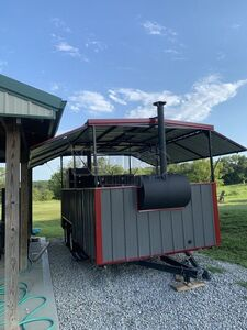 2018 Hiddenvalley Smokers Open Bbq Smoker Trailer Bbq Smoker Missouri for Sale