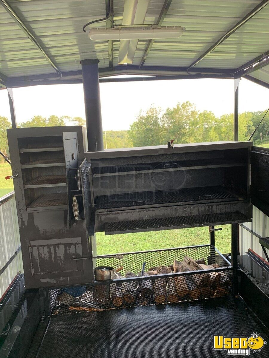 2018 Hiddenvalley Smokers Open Bbq Smoker Trailer Bbq Smoker Missouri for Sale - 8