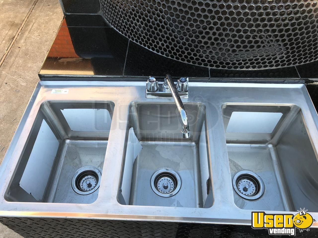 2018 Homemade Pizza Trailer Hand-washing Sink Florida for Sale - 6