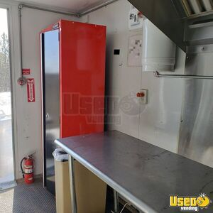 2018 Mk202-8 Kitchen Concession Trailer Kitchen Food Trailer Diamond Plated Aluminum Flooring Wyoming for Sale