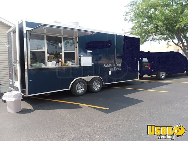 2018 Mk202-8 Kitchen Concession Trailer Kitchen Food Trailer Wyoming for Sale