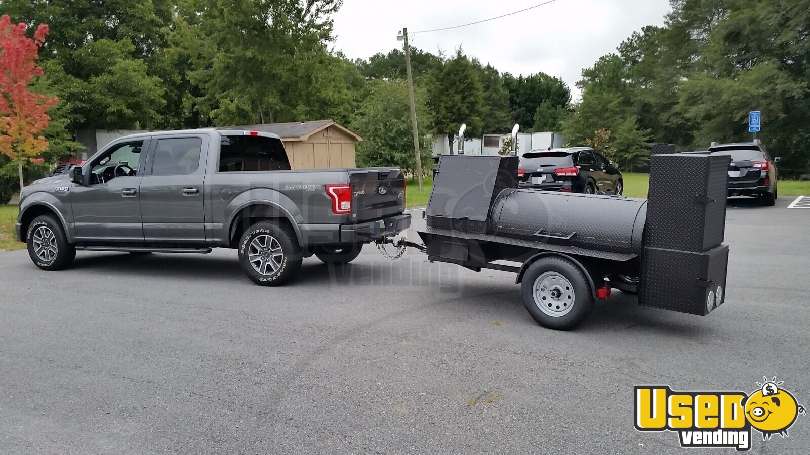 2018 New Open Bbq Smoker Trailer 4 Georgia for Sale - 4