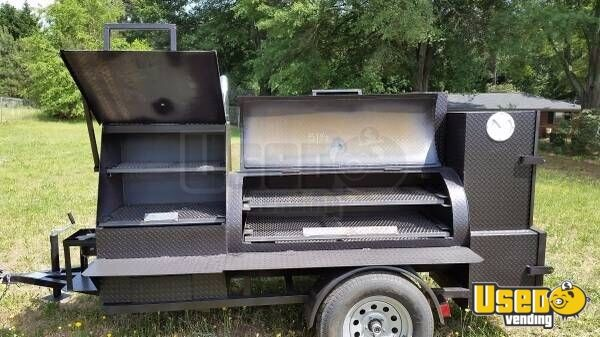 2018 New Open Bbq Smoker Trailer Georgia for Sale
