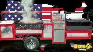 NEW 4' x 11' Outdoor Mobile Grill BBQ Pit Catering Trailer / Tailgating Trailer for Sale in Texas!