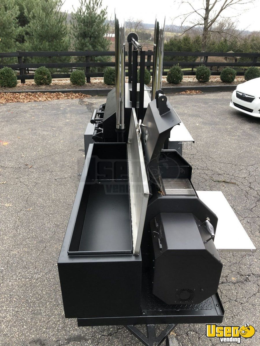 2018 Peoria Mmof/yoder Ys 640 Pellet Grill Open Bbq Smoker Trailer 6 New Jersey for Sale - 6