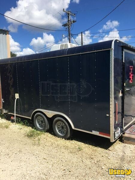 2018 Shaved Ice Concession Trailer Snowball Trailer Air Conditioning Louisiana for Sale - 2