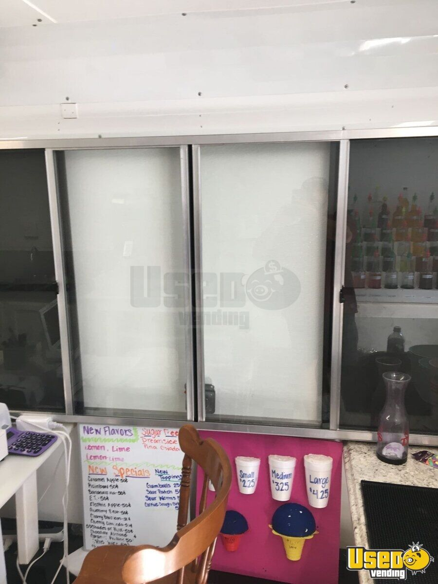 2018 Shaved Ice Concession Trailer Snowball Trailer Refrigerator Louisiana for Sale - 11