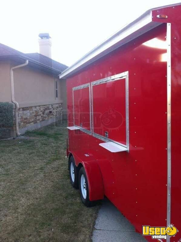 2018 Snowball Trailer Concession Trailer Removable Trailer Hitch Texas for Sale - 3