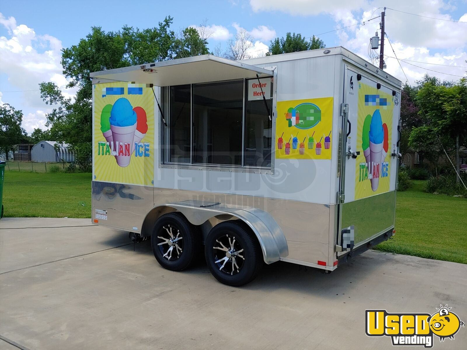 2018 Spartan 7x12 Ice Cream Truck Air Conditioning Texas for Sale - 2