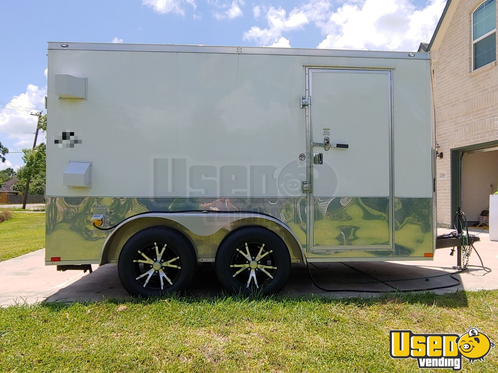 2018 Spartan 7x12 Ice Cream Truck Generator Texas for Sale - 4