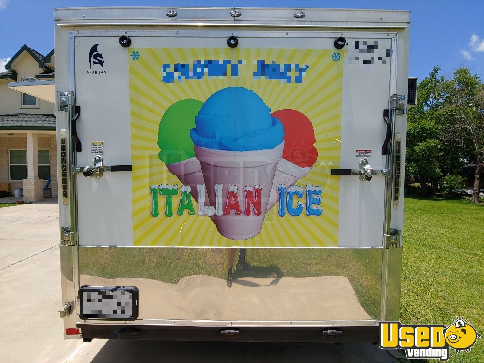 2018 Spartan 7x12 Ice Cream Truck Shore Power Cord Texas for Sale - 5
