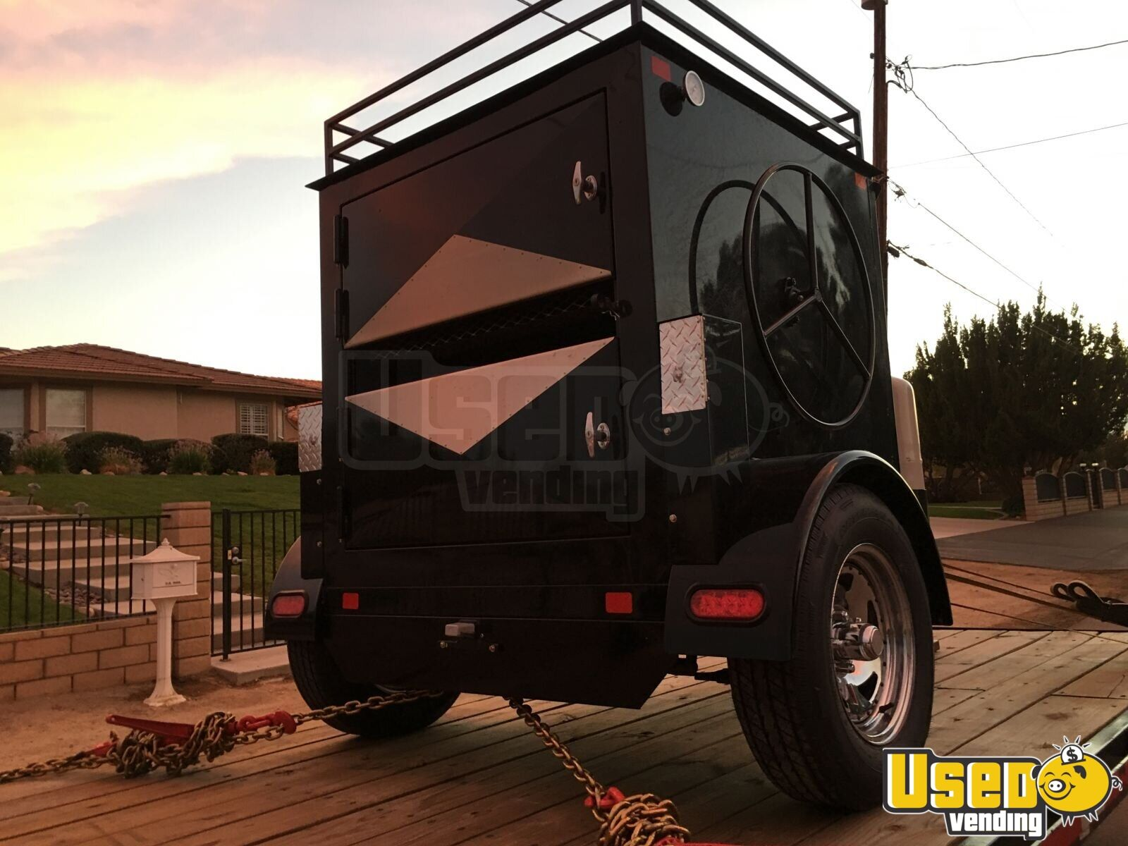 2018 Texas Corn Roaster Corn Roasting Trailer Removable Trailer Hitch California for Sale - 2