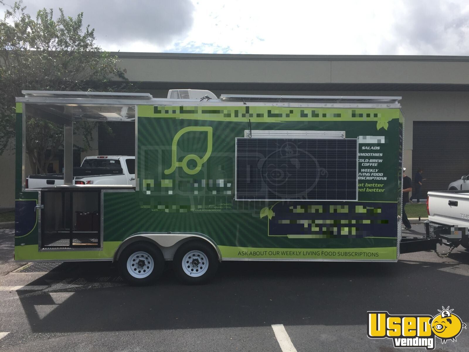 2018 Titan Beverage - Coffee Trailer Cabinets Florida for Sale - 4