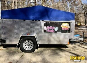 2018 Utility Food Concession Trailer Concession Trailer Stainless Steel Wall Covers Virginia for Sale