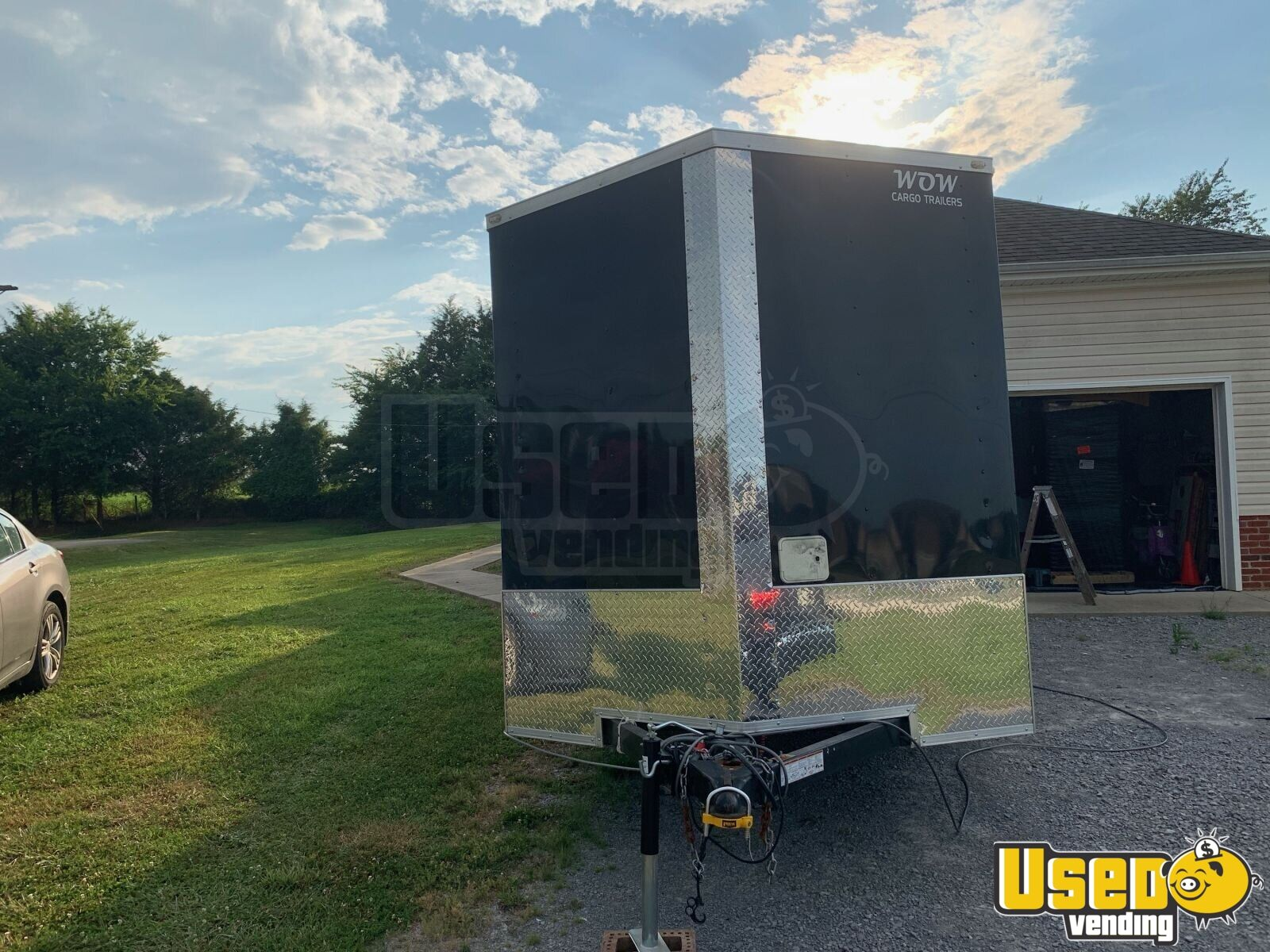 2018 Wow Cargo Trailer All-purpose Food Trailer Concession Window Tennessee for Sale - 3
